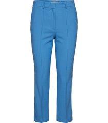 bari w pantalon met rechte pijpen blauw tiger of sweden