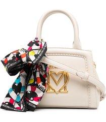 love moschino new scarf mini shopping bag