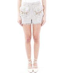 elisabetta franchi blend cotton shorts