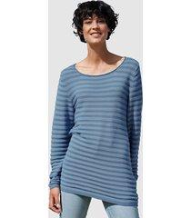 trui dress in blauw::lichtblauw