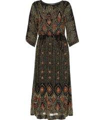 jurk met kralen emilie  zwart