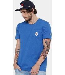 camiseta mlb new york mets new era mini logo masculina