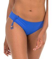 bikini selmark bikinibroekje gofrada mare blauw bikinibroekje