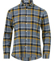 skjorta checked flannel shirt l/s