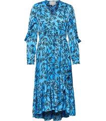 justin jurk knielengte blauw munthe