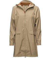 w coat regenkleding beige rains
