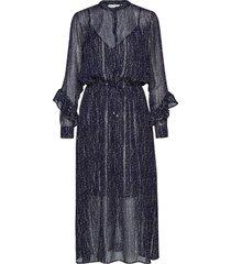 trinaiw hilma dress maxiklänning festklänning blå inwear