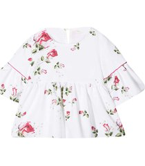 monnalisa monnalisa white teen blouse