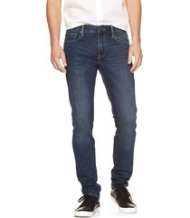 jeans skinny dusted indigo hombre azul gap gap