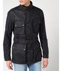 belstaff men's trialmaster jacket - dark navy - it 46/s