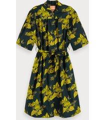 scotch & soda jurk met bloemenprint
