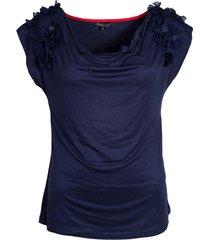 tev162 t-shirt waterval hals