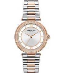 reloj bicolor kenneth cole new york