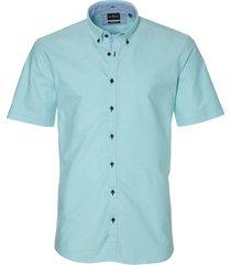 jac hensen overhemd - modern fit - turquoise