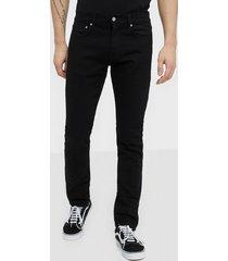 calvin klein jeans slim west cut jeans svart
