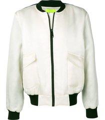ex infinitas extreme surfer bomber jacket - white