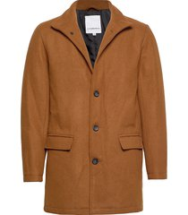 coat w stand up collar trenchcoat lange jas bruin lindbergh