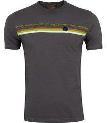 camiseta hd estampada redemption 6252a - masculina - cinza escuro