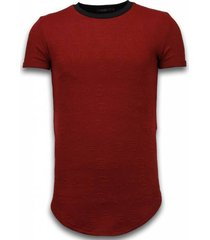 3d encrypted t-shirt - long fit shirt zipped