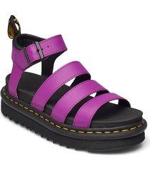 blaire shoes summer shoes flat sandals lila dr. martens