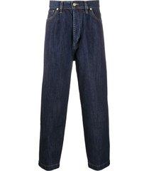société anonyme baggy fit denim trousers - blue