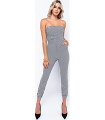 akira check you out tube jumpsuit