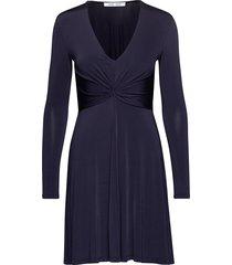 elsi short dress 10908 kort klänning blå samsøe & samsøe