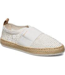 raffiaville espadrille sandaletter expadrilles låga creme gant