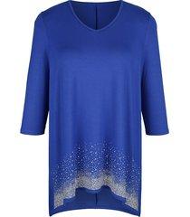 shirt m. collection royal blue