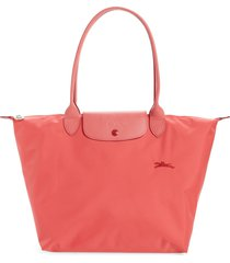longchamp le pliage club tote - orange
