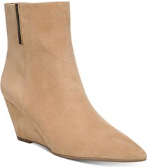 franco sarto athens wedge booties women's shoes