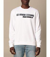 armani collezioni armani exchange sweatshirt armani exchange crewneck sweatshirt with logo
