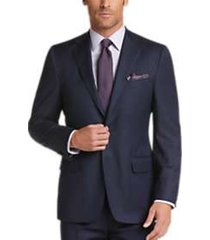 joseph abboud voyager navy stripe modern fit suit