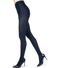 crossing diamonds sweater women's tights