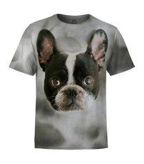 camiseta masculina buldogue frances md01
