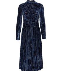 asher, 1008 velvet devoré dresses cocktail dresses blå stine goya