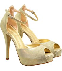 francesco gold sandali
