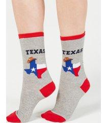 hot sox women's texas fashion crew socks