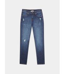 jeans skinny rotos pequeños