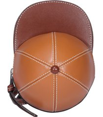 j.w. anderson cap mini bag