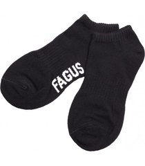 calcetin hombre negro fagus