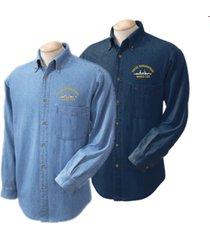 uscgc morgenthau whec-722  direct embroidered denim shirt