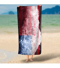 american-flag-sea-tide-printed-rectangle-large-beach-throw-round-circle-beach-to