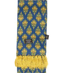 tootal blue tear drop print scarf tv1802-725