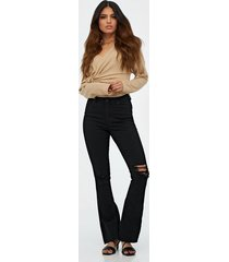 gina tricot natasha goes destroy jeans bootcut & flare