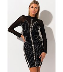 akira ready for action studded dress