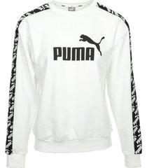 sweater puma amplified crew sweat wn's