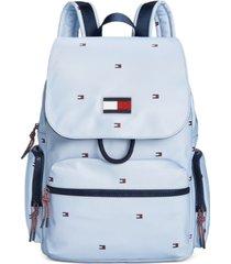 tommy hilfiger allie flap backpack