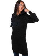 womens knitted hooded jumper dress