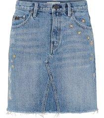 jeanskjol hot cuts skirt